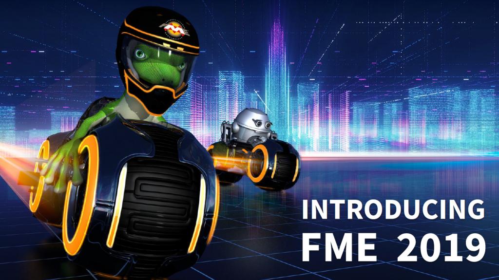 FME Lizard et FME Zipster, fond d'écran FME 2019