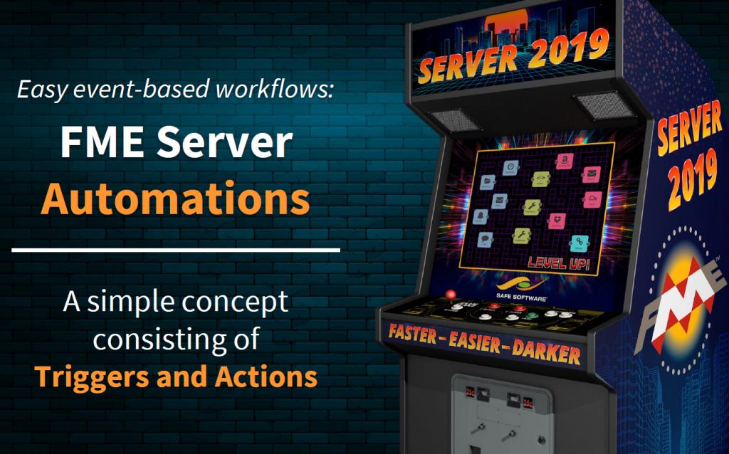 FME Server 2019, améliorations